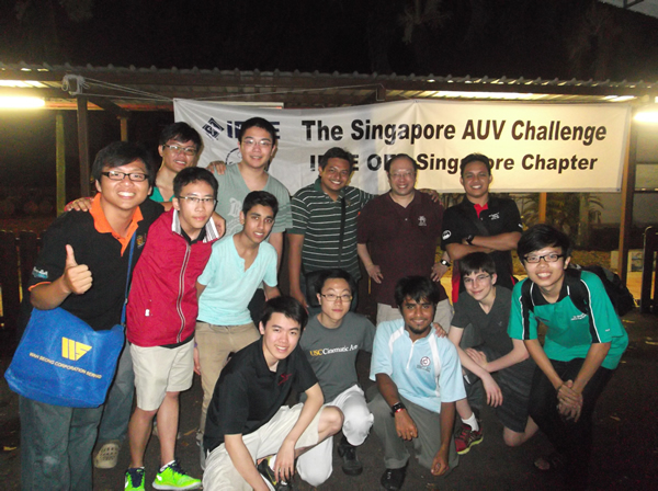 Congratulations to Singapore AUV Challenge 2014 Team